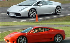 Ferrari v Lamborghini and Hot Laps                                                                                                                     Experience from Trackdays.co.uk