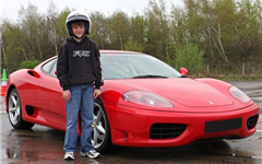 Junior Ferrari Experience Experience from Trackdays.co.uk