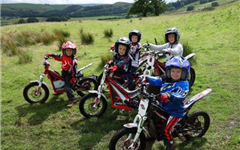 Junior Motorcycle Trials Course