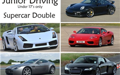 Junior Supercar Double                                                                                                                                 Experience from Trackdays.co.uk