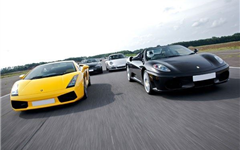 Supercar Four Experience from Trackdays.co.uk