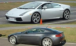 Lambo v Aston Martin                                                                                                                                   Experience from Trackdays.co.uk