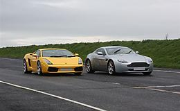 Aston Martin vs Lamborghini Experience from Trackdays.co.uk