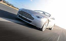 Aston Martin V8 Vantage Blast Experience from Trackdays.co.uk