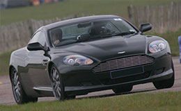 Aston Martin V8 Vantage Thrill Experience from Trackdays.co.uk
