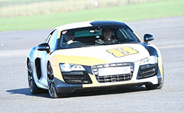 Audi R8 V10 Blast Experience from Trackdays.co.uk