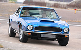Classic Aston Martin Vantage Thrill Experience from Trackdays.co.uk