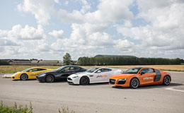 Double Supercar Passenger Ride Experience from Trackdays.co.uk