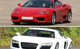 Fathers Day Double Supercar Thrill Experience from Trackdays.co.uk