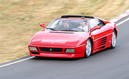 Ferrari 348 TS Blast Experience from Trackdays.co.uk