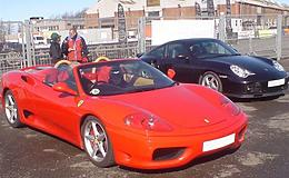 Ferrari v Porsche and Hot Laps Experience from Trackdays.co.uk