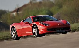 Ferrari 458                                                                                                                                            Experience from Trackdays.co.uk