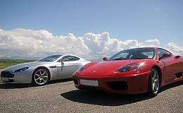 Ferrari vs Aston Martin Experience from Trackdays.co.uk