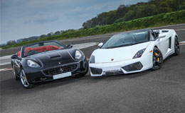 Ferrari vs Lamborghini Experience from Trackdays.co.uk