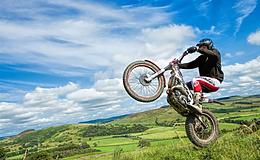 Full Day Motorcycle Trials Course Experience from Trackdays.co.uk