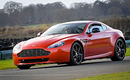 Junior Aston Martin V8 Vantage Blast Experience from Trackdays.co.uk