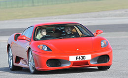 Junior Ferrari 430 Blast Experience from Trackdays.co.uk