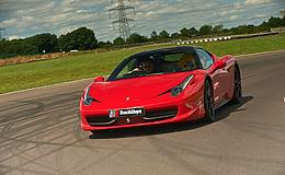 Junior Ferrari 458 Thrill Experience from Trackdays.co.uk
