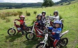Junior Motorcycle Trials Course Experience from Trackdays.co.uk