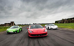 Junior Supercar Platinum Experience from Trackdays.co.uk