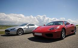 Junior Triple Supercar and Rally Driving Thrill Experience from Trackdays.co.uk