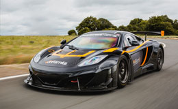 McLaren MP4 12C GT3 Thrill Experience from Trackdays.co.uk