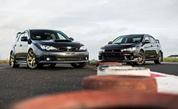 Subaru v Mitsubishi Driving Thrill Experience from Trackdays.co.uk
