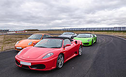 Supercar Double Thrill                                                                                                                                 Experience from Trackdays.co.uk