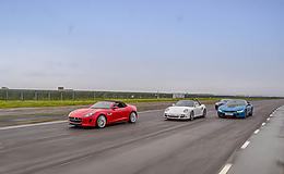Supercar Treble Taster Offer Experience from Trackdays.co.uk