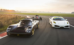 Treble Supercar Thrill Experience from Trackdays.co.uk