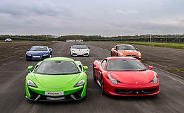 Supercar Treble Platinum Experience from Trackdays.co.uk