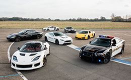 Triple Supercar Passenger Ride Experience from Trackdays.co.uk