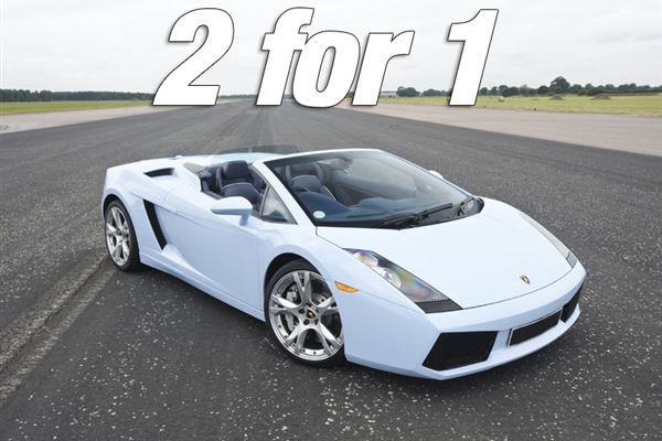 2 for 1 Supercar Thrill Driving Experience 1
