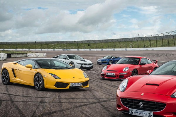 Triple Supercar Blast Driving Experience 1