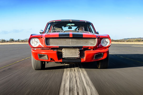 American Muscle Blast with High Speed Passenger Ride Driving Experience 1