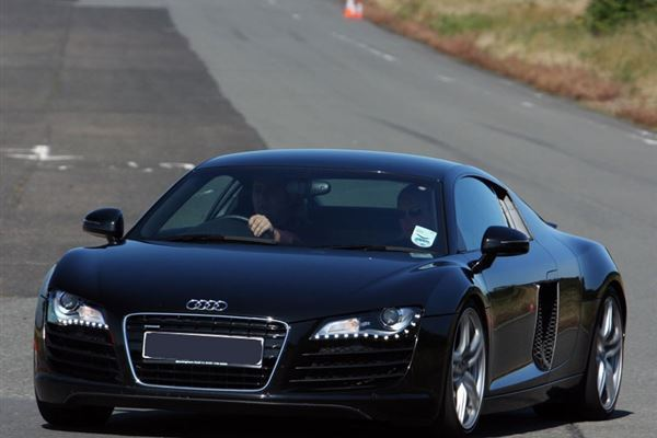 Audi R8 plus Hot Lap Driving Experience 2