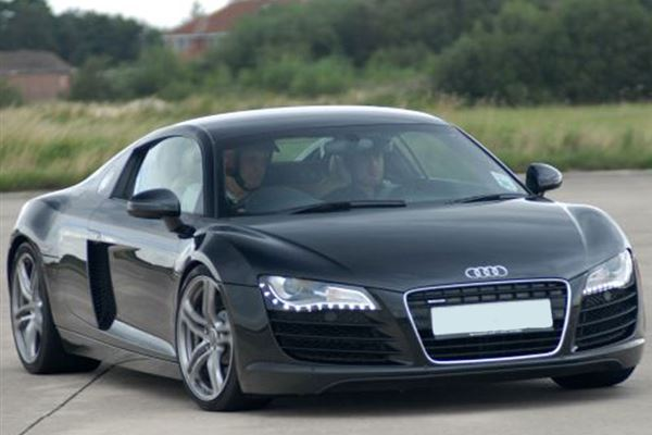 Audi R8 plus Hot Lap Driving Experience 1