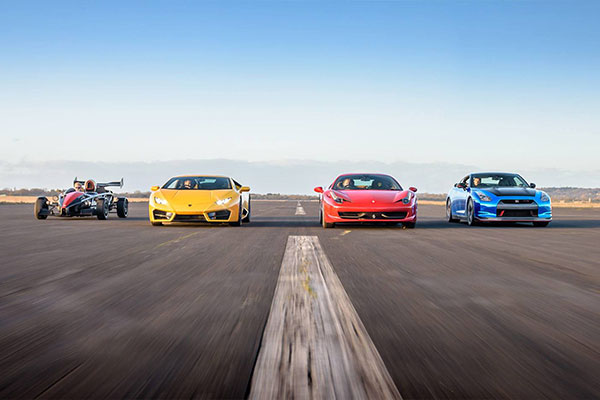 Triple Supercar Blast with High Speed Ride Driving Experience 1