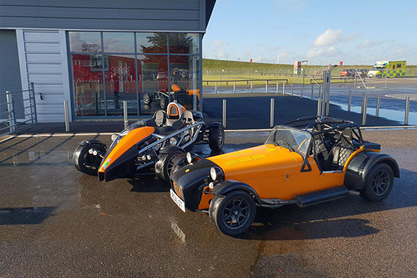 Caterham Superlight R300 Track Day Car Hire Driving Experience 2