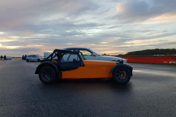 Caterham Superlight R300 Track Day Car Hire Driving Experience 1