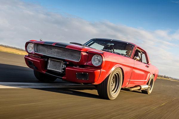 Double American Muscle Thrill with High Speed Passenger Ride Driving Experience 2