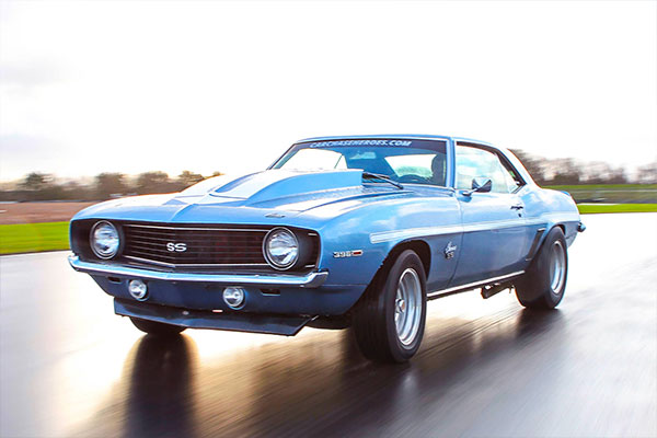 Double American Muscle Thrill with High Speed Passenger Ride Driving Experience 3