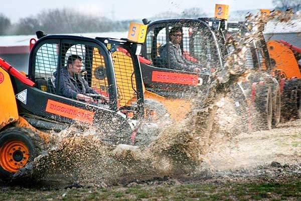 Dumper Truck Racing for Two Driving Experience 2