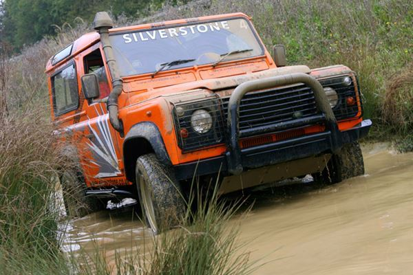 Extreme 4x4 Off Road Driving Experience Offer at Silverstone
