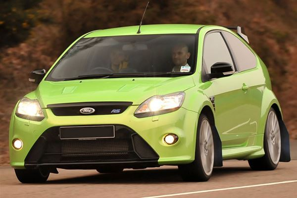 Ford Focus RS Turbo Driving Experience 1