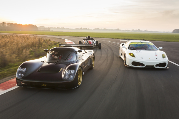 Four Supercar Thrill Driving Experience 1