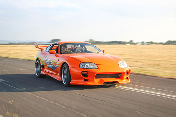 Four Movie Car Thrill with High Speed Passenger Ride Driving Experience 2