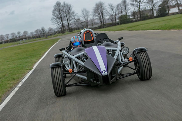 Four Supercar Blast with Ariel Atom Passenger Ride at Ingliston Driving Experience 1