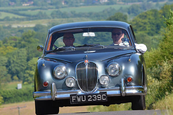 Half Day Classic Car Road Trip with Afternoon Tea Driving Experience 1