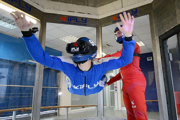 iFLY Indoor Skydiving and Virtual Reality Flight for One 1